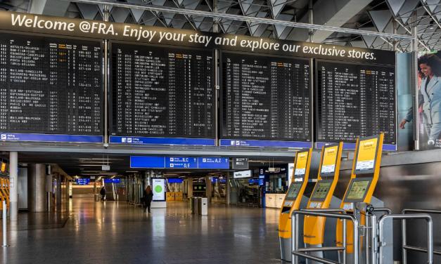 Maskenpflicht an deutschen Flughäfen