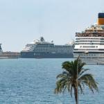 Kreuzfahrtschiffe im Hafen von Palma