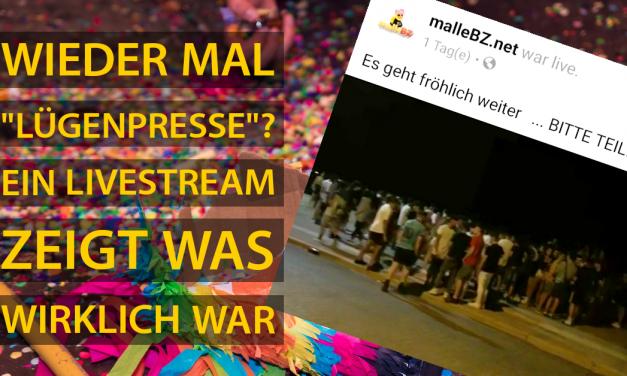 """""""Lügenpresse"""" – ein Livestream und der kurze Weg von der Realität zur Unwahrheit"""