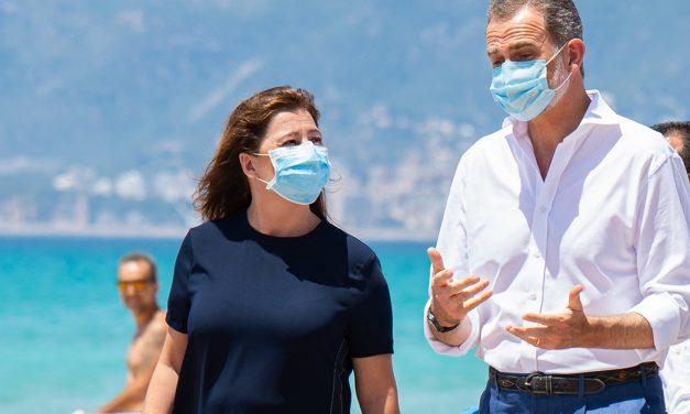 Francina Armengol äußert sich zur Maskenpflicht