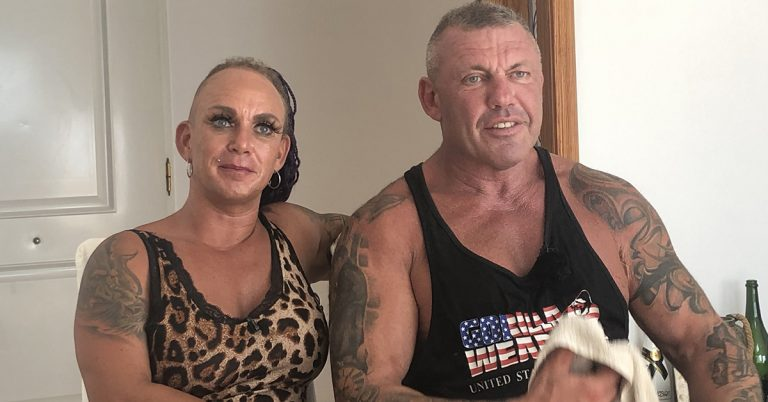 Robens nackt caroline Bodybuilder Frau