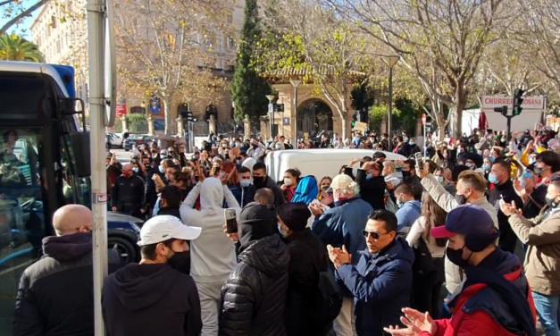 Demonstranten erobern Palma – trotz Verbot