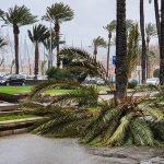 Schwerer Sturm über Mallorca