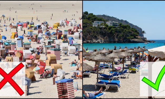 Aha! Bundesregierung warnt vor Mallorca-Reisen