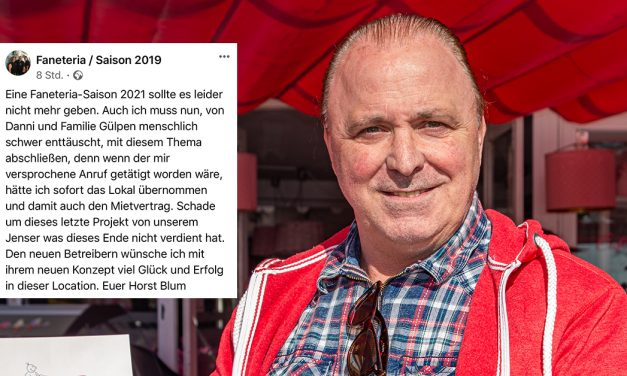 Faneteria – Wegbegleiter von Jens Büchner schwer enttäuscht