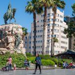 Die Plaza de España – Der treffpunkt Nr.1 in Palma