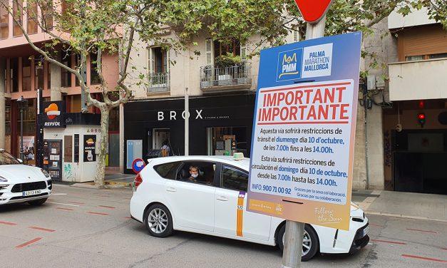 Palma Marathon am Sonntag – Autofahrer brauchen Geduld